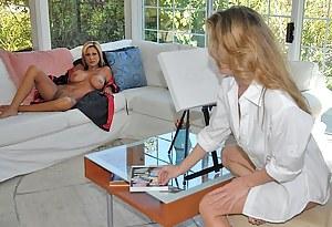 XXX Mature Lesbian Interracial Porn Pictures