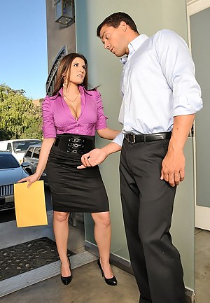 XXX Office Mature Porn Pictures